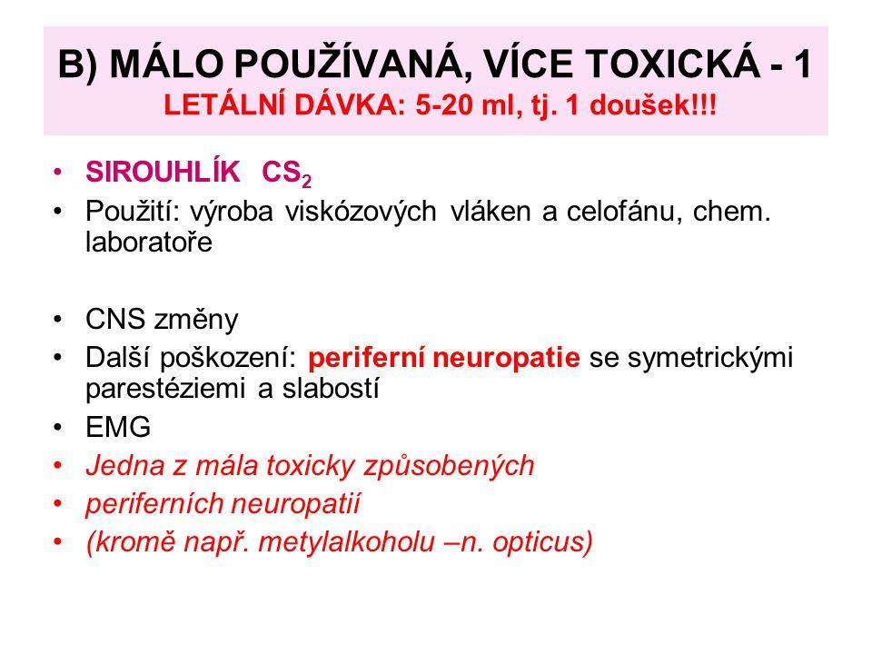 Terapie: 1) Ideální antidotum – Fomepizol – inhibitor ADH, metanol se vylučuje dechem a močí nezměněn 2) nebo etanol (afinita k ADH 15x vyšší) per os nebo 10% i.v., první pomoc 100-200 ml 40% alkoholu (dospělý), udržovat hladinu na 1-1,5 promile Hemodialýza: Při vysoké koncentraci metanolu v krvi, odstraní i metabolit, upraví osmolaritu, acidózu Kys.