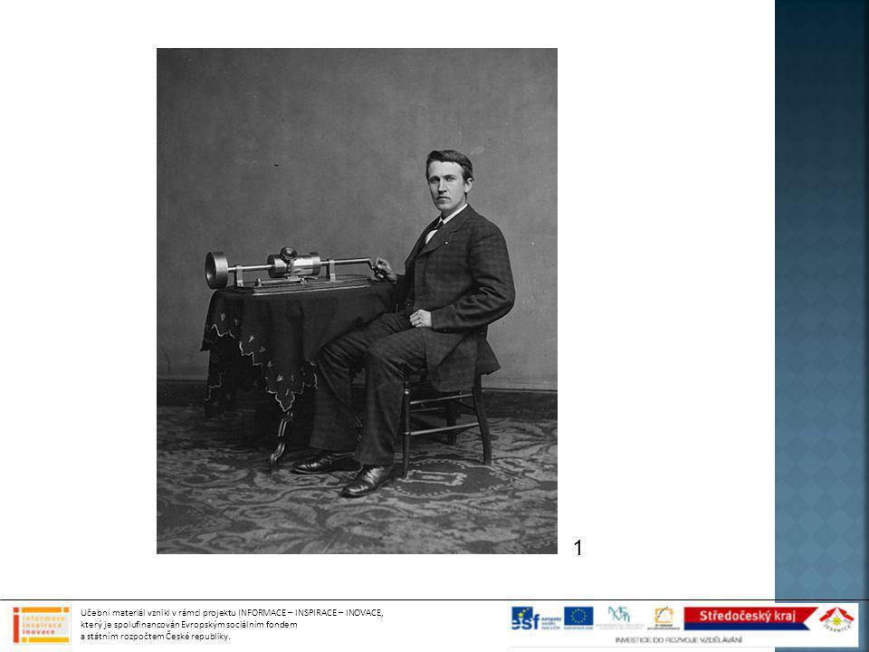  Roku 1887 ho sestrojil Emil Berliner  Pro záznam použil místo kovového válce plochou desku  První desky byly vyráběny ze zinku potaženého voskem, následovaly desky šelakové a později desky vinylové  První gramofony byly na ruční pohon, s rozvojem elektrotechniky byly vylepšeny o elektrický pohon a zesilovač zvuku  Další zlepšení přinesl vynález stereofonního záznamu v druhé polovině 20.