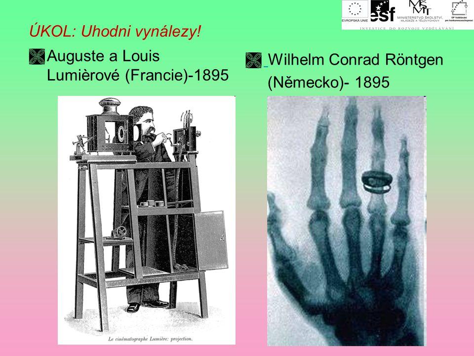 Technické vynálezy ÚKOL: Uhodni vynálezy!  Alexander Graham Bell (USA) -1876  Alfred Nobel (Švédsko) - 1866