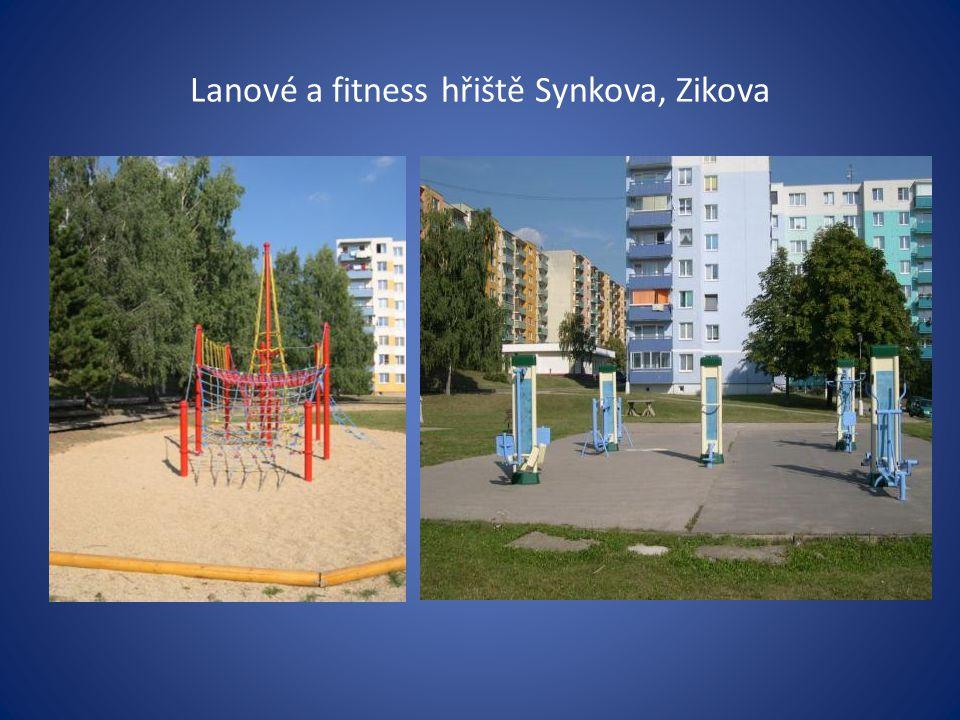 Lanové a fitness hřiště Synkova, Zikova