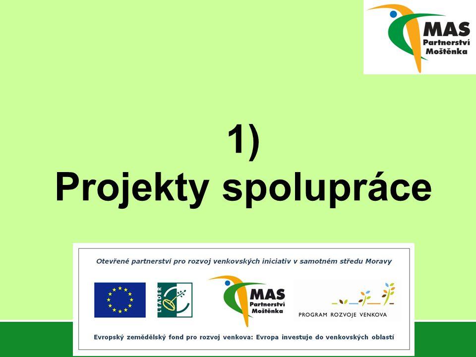 1) Projekty spolupráce