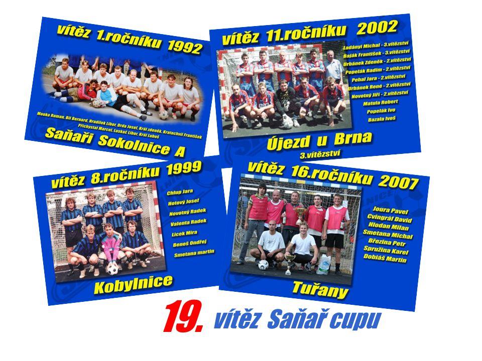 19. vítěz Saňař cupu