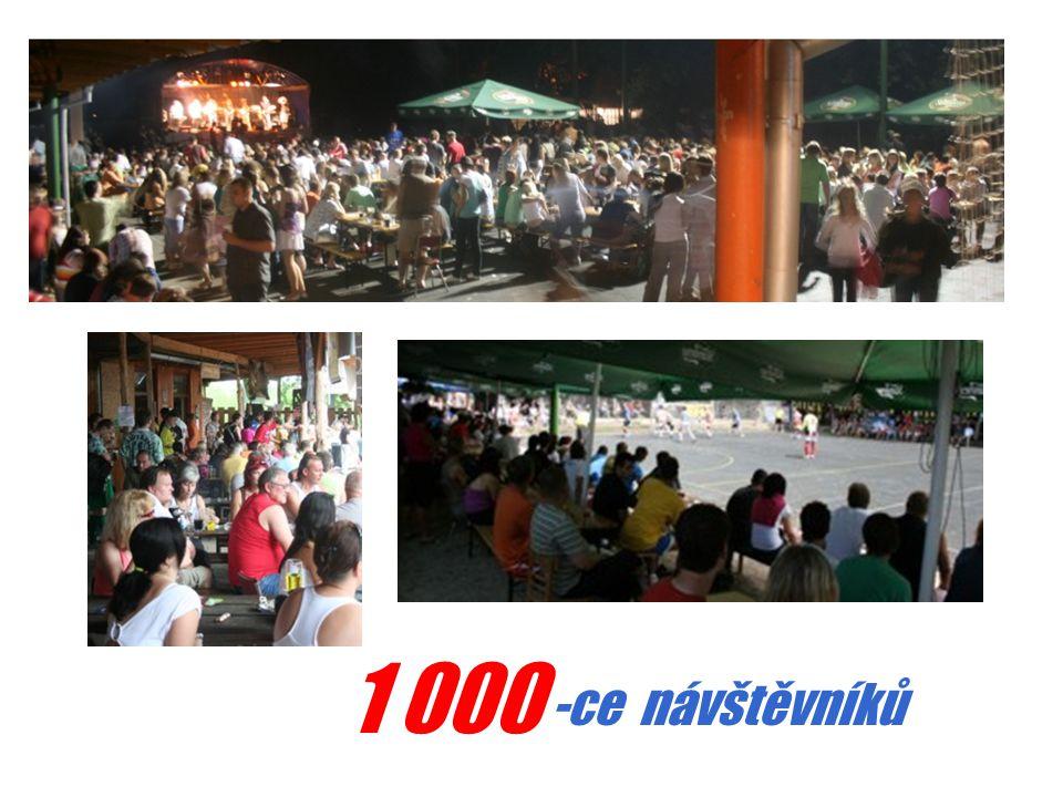 1 000 -ce návštěvníků
