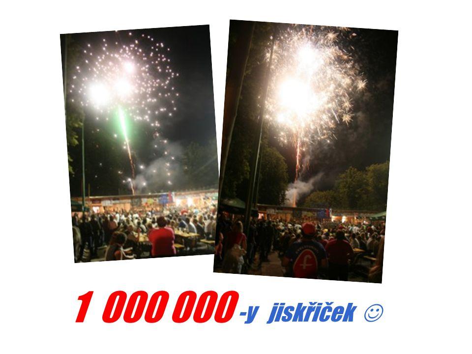 1 000 000 -y jiskřiček