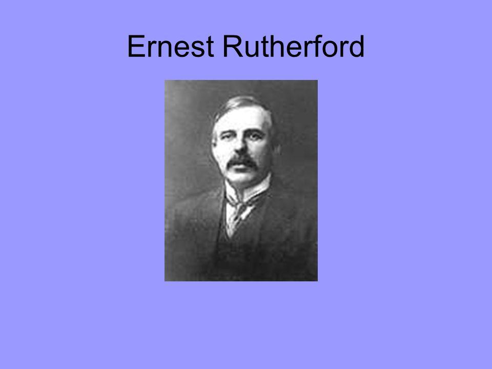30.8.1871 - 19.10.1937 Lord Ernest Rutherford se narodil na Novém Zélandu 30.