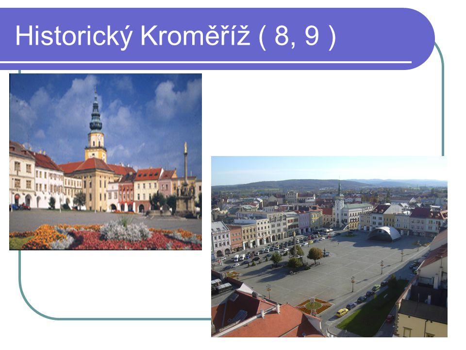 Historický Kroměříž ( 8, 9 )