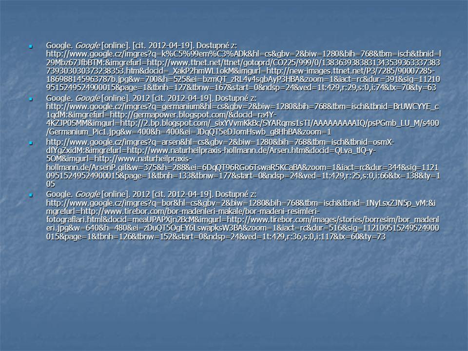 Google. Google [online]. [cit. 2012-04-19].
