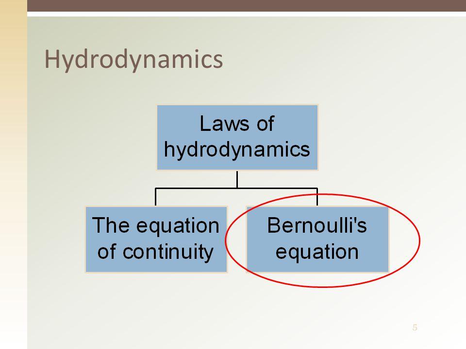 5 Hydrodynamics