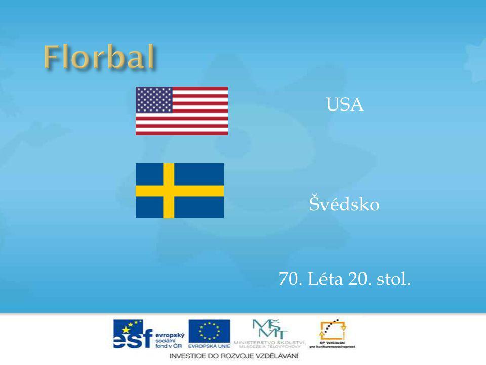 USA Švédsko 70. Léta 20. stol.
