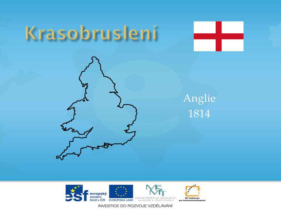 Anglie 1814