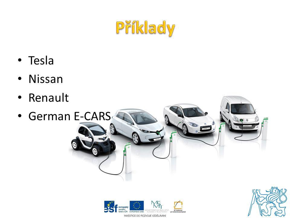 Tesla Nissan Renault German E-CARS