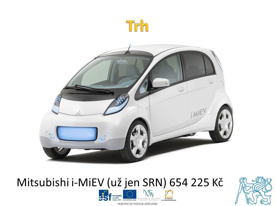 Mitsubishi i-MiEV (už jen SRN) 654 225 Kč