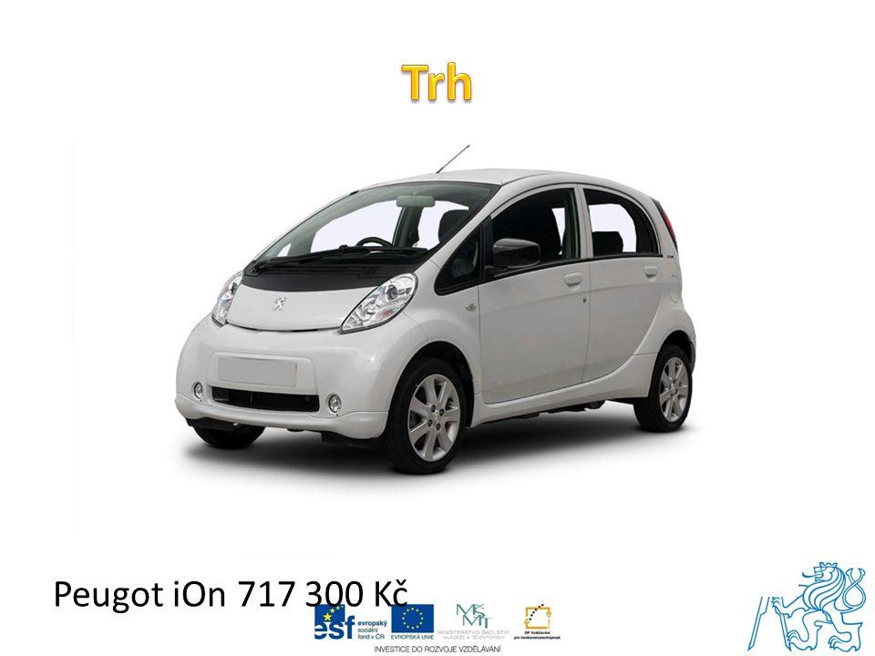 Peugot iOn 717 300 Kč
