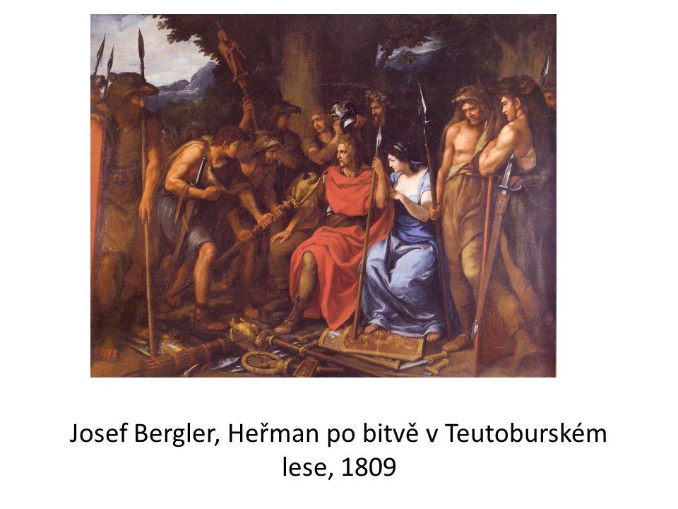 Josef Bergler, Heřman po bitvě v Teutoburském lese, 1809