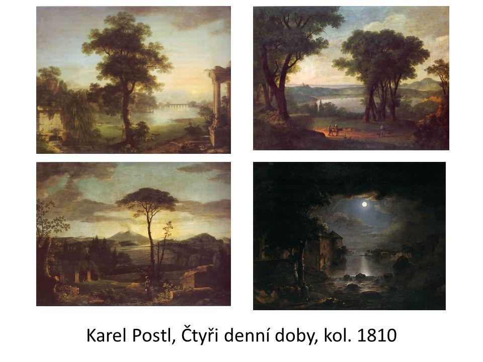 Karel Postl, Čtyři denní doby, kol. 1810