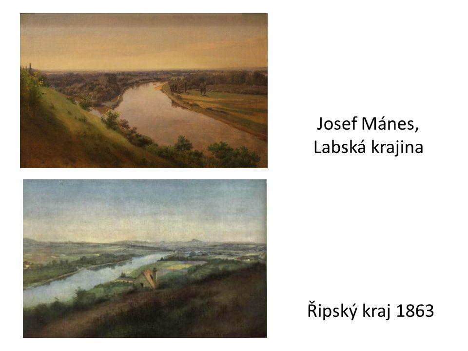 Josef Mánes, Labská krajina Řipský kraj 1863