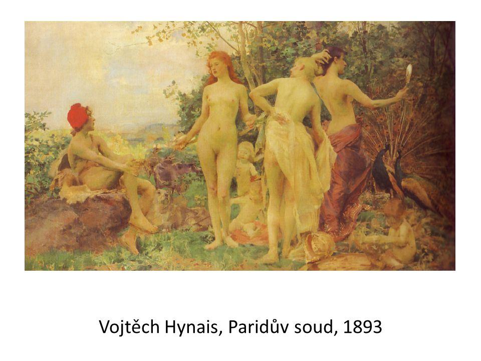 Vojtěch Hynais, Paridův soud, 1893