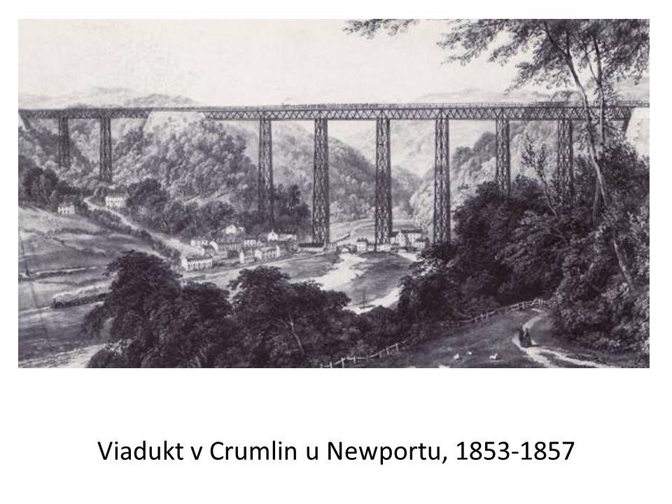 Viadukt v Crumlin u Newportu, 1853-1857