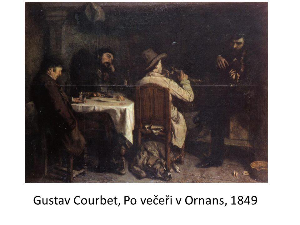 Gustav Courbet, Po večeři v Ornans, 1849