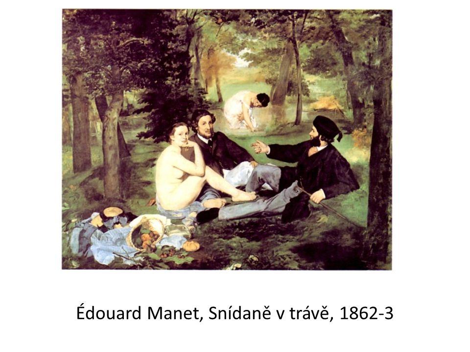 Édouard Manet, Snídaně v trávě, 1862-3