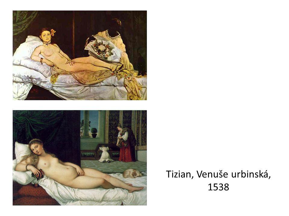 Tizian, Venuše urbinská, 1538