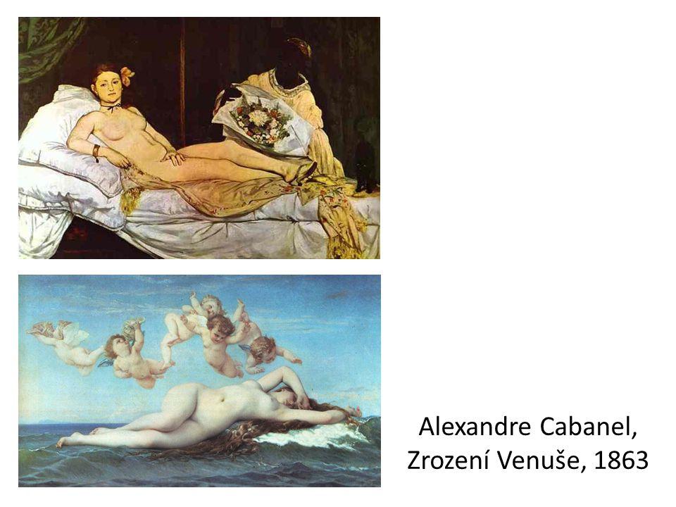 Alexandre Cabanel, Zrození Venuše, 1863
