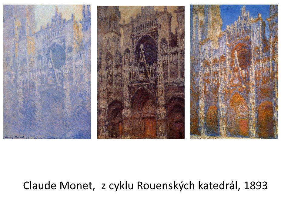 Claude Monet, z cyklu Rouenských katedrál, 1893