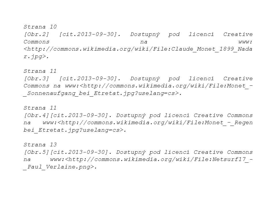 Strana 10 [Obr.2] [cit.2013-09-30]. Dostupný pod licencí Creative Commons na www:.