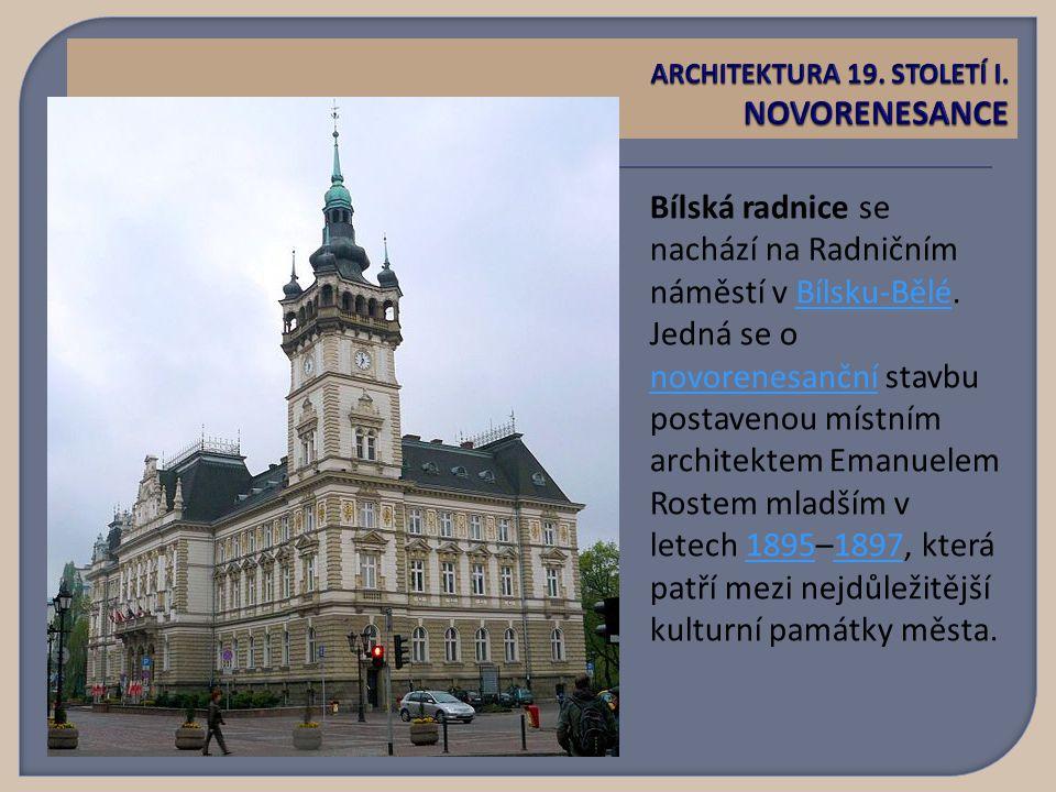 Bílská radnice se nachází na Radničním náměstí v Bílsku-Bělé.