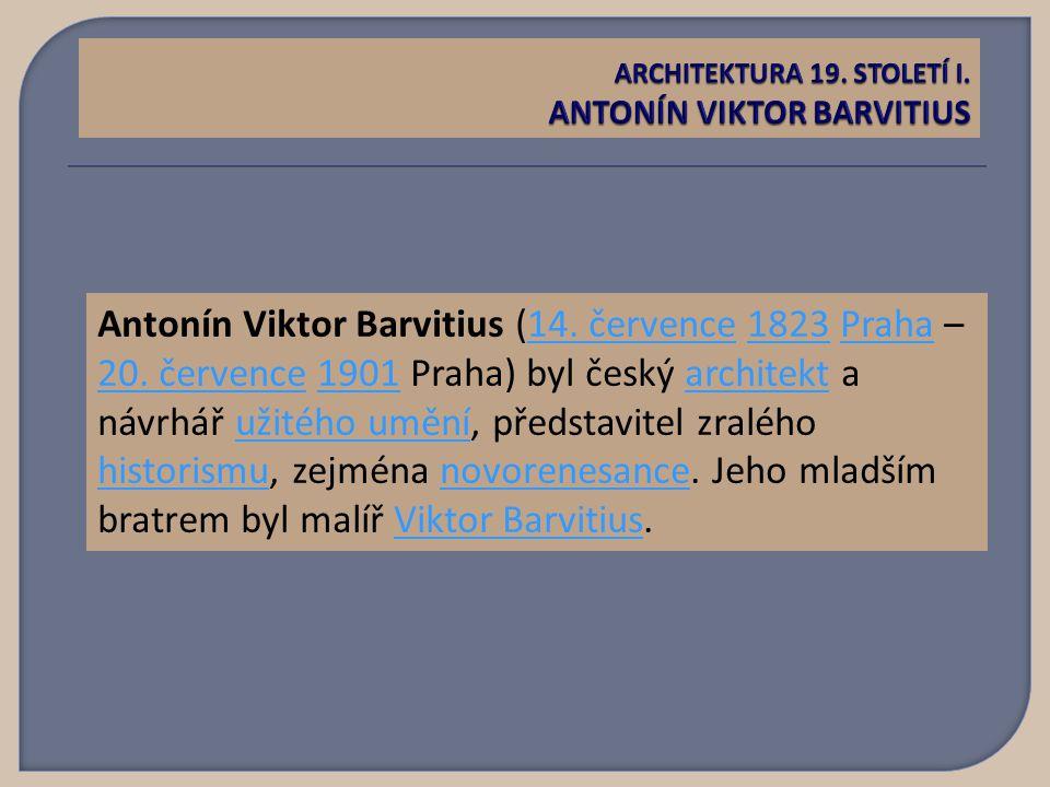 Antonín Viktor Barvitius (14. července 1823 Praha – 20.