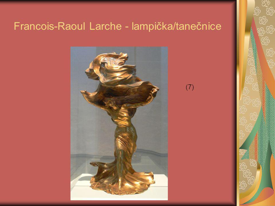 Francois-Raoul Larche - lampička/tanečnice (7)