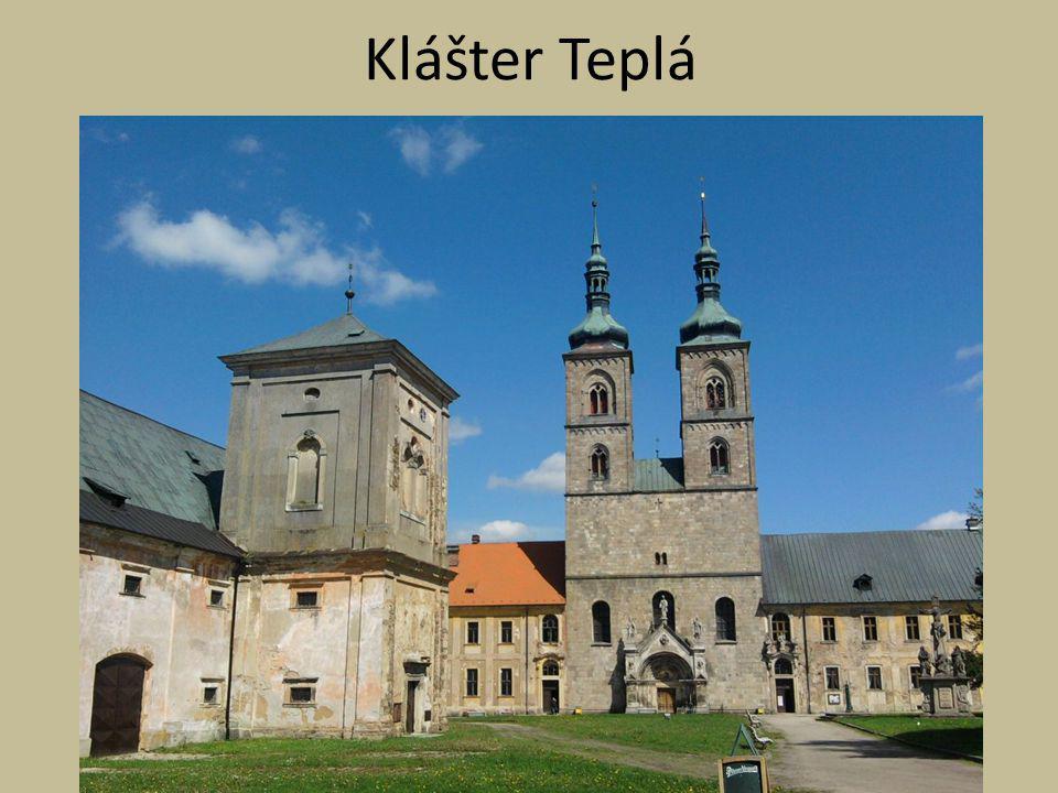 Knihovna kláštera v Teplé Nejstarší dochovaná písemná zmínka o její existenci je k roku 1501, kdy měla být péčí opata Sigismunda (1458-1506) zbudována nová prostora sloužící k ukládání knih.