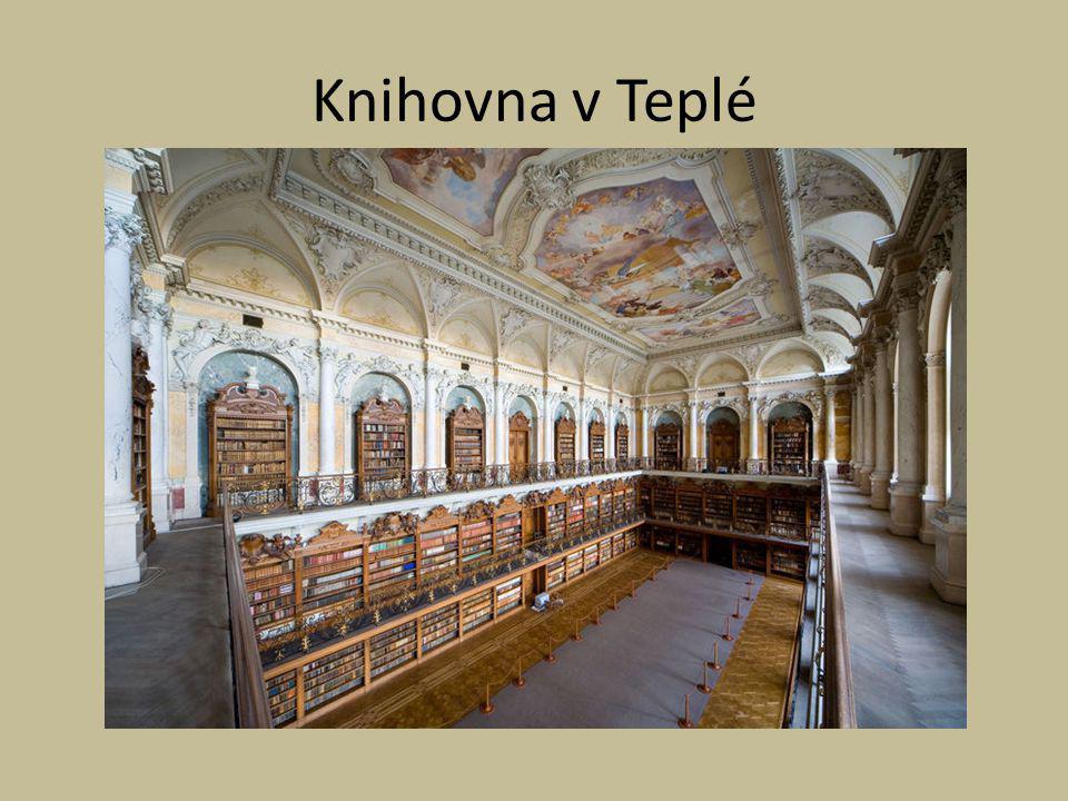 Od roku 1900 má knihovna moderní vybavení: Nové muzejní a knihovní křídlo obsahovalo kanceláře klášterních úředníků se zázemím, pracovnu knihovníka, čítárnu, místnost pro uchovávání rukopisů a nejstarších tisků Malý a velký sál sloužící k prezentaci rozsáhlých muzejních a galerijních sbírek Vysoce moderní vytápěný roštový knihovní depozitář Místnost pro uložení sbírek grafiky, map a hudebnin, spojovací chodbu, reprezentační hostinské pokoje Velký knihovní sál zabírající výši přízemí i patra