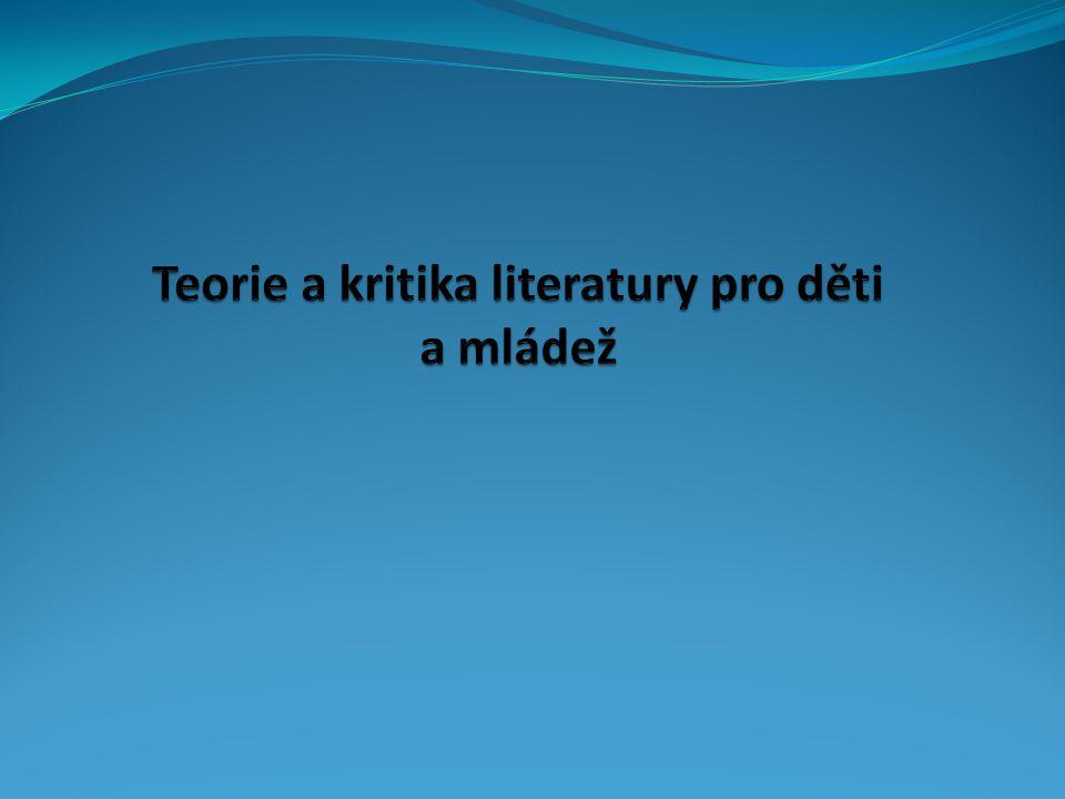 První kritické poznámky o literatuře pro děti a významu četby pro výchovu a vzdělání lze najít v některých spisech J.
