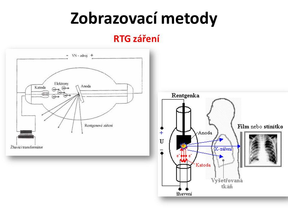 Zobrazovací metody RTG záření