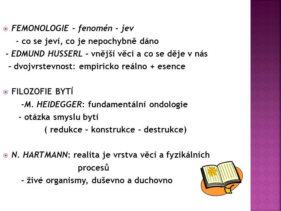  FILOZOFIE EXISTENCE - S.A.
