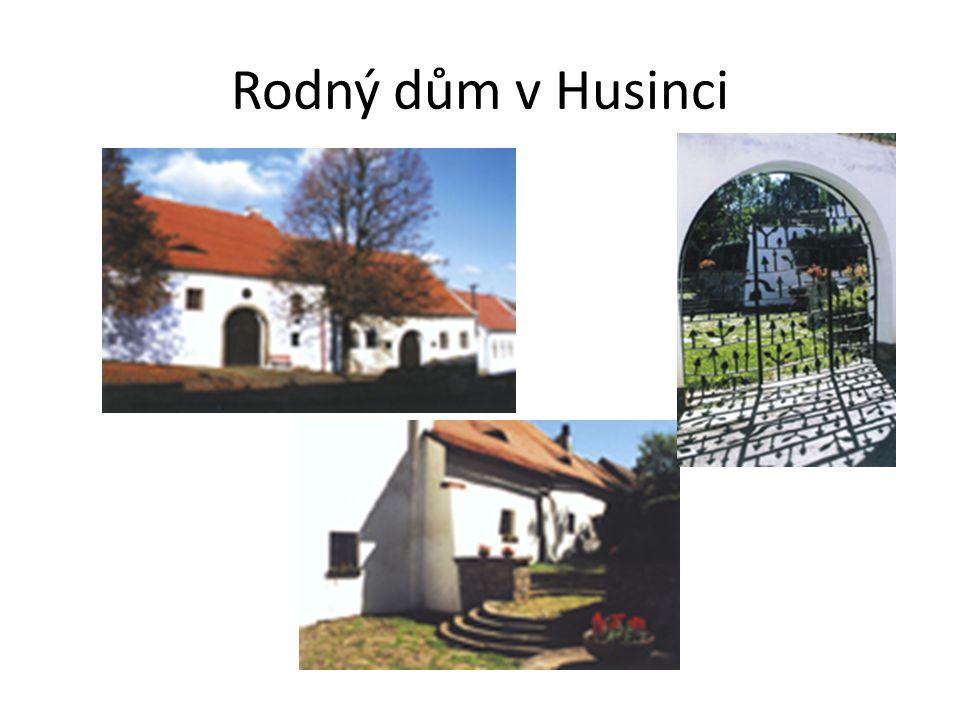 Rodný dům v Husinci