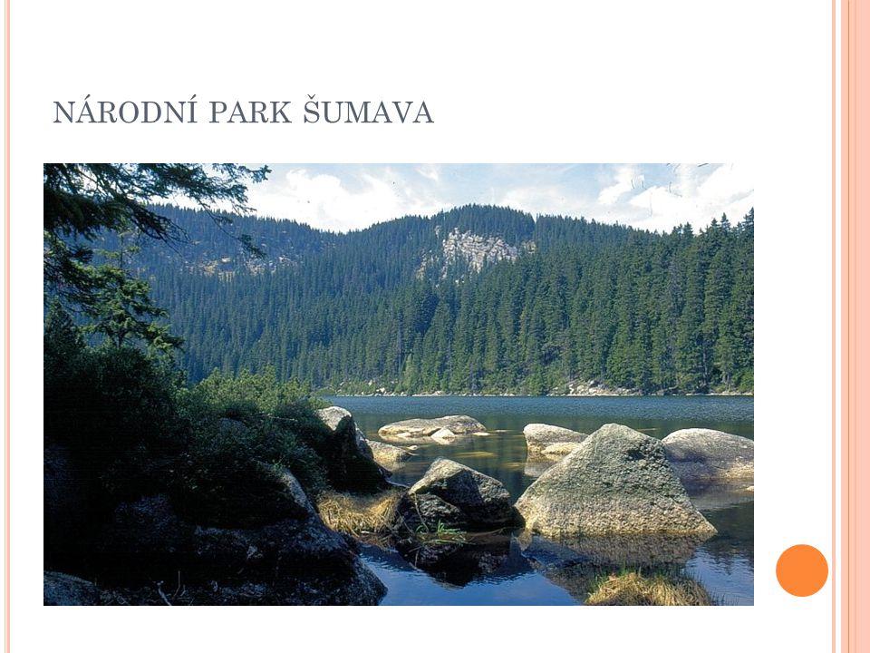Založen 1991 Poloha: JZ Čechy Rozloha: 1630 km 2