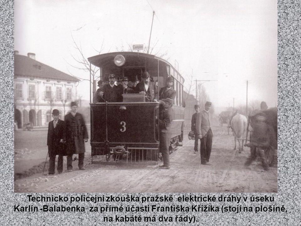 Nádraží Františka Josefa v roce 1878.