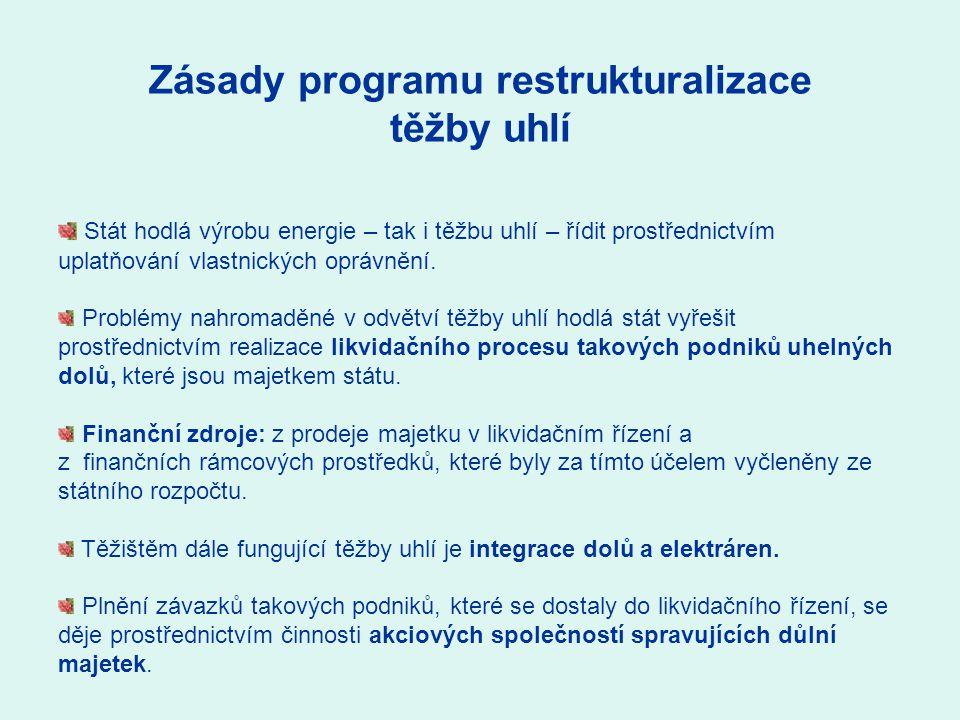 Integrace dolů a elektráren Pécsi Erőmű a.s.(elektrárna) Borsodi Hőerőmű s.r.o.
