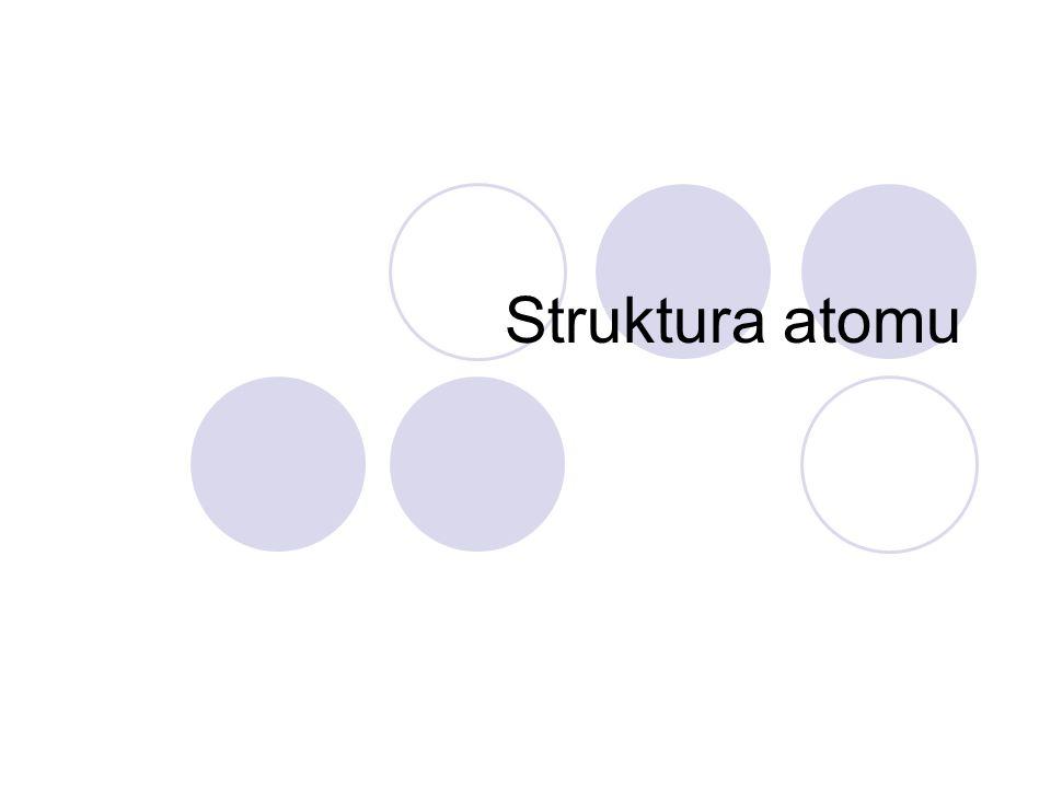 Struktura atomu