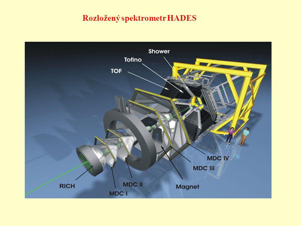 Rozložený spektrometr HADES