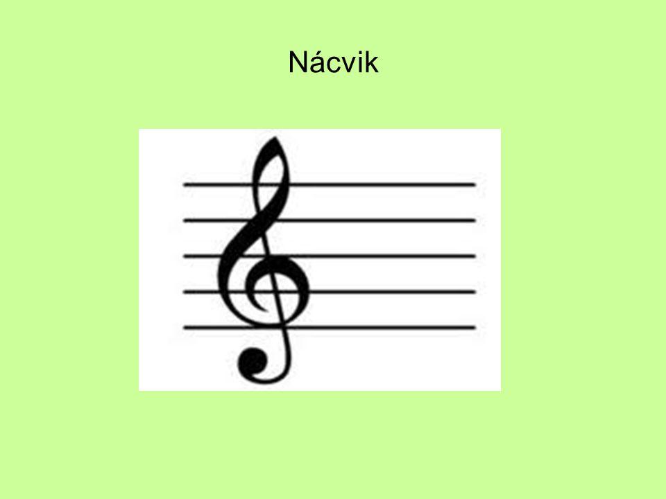 Kontrolní otázky 1.Proč se v hudbě používá notový klíč? 2.Vyjmenujte druhy notových klíčů.
