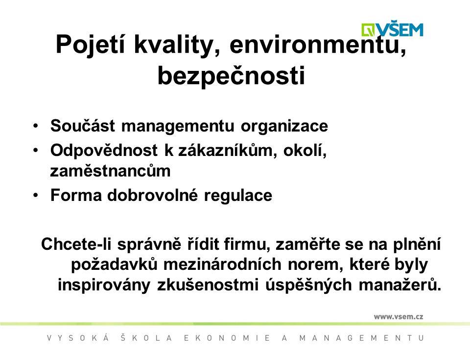 Legislativa kvality –Technické požadavky na výrobky – zák.