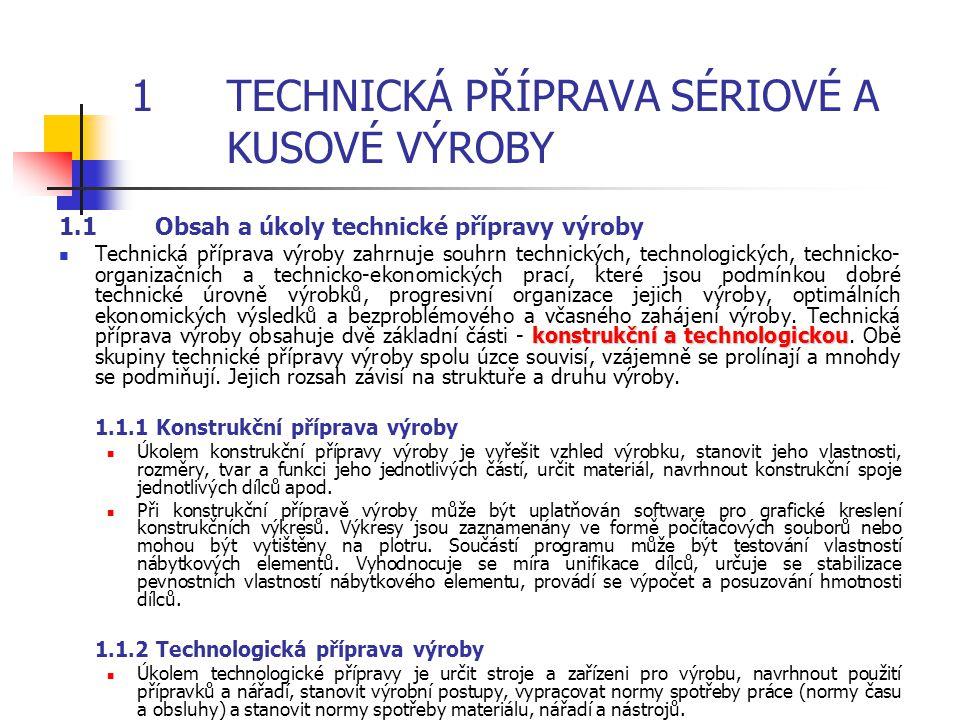 Cílem obsahové náplně není probírat detaily strojně technologického zařízení a technologických podmínek jednotlivých druhů opracování materiálů. Cílem