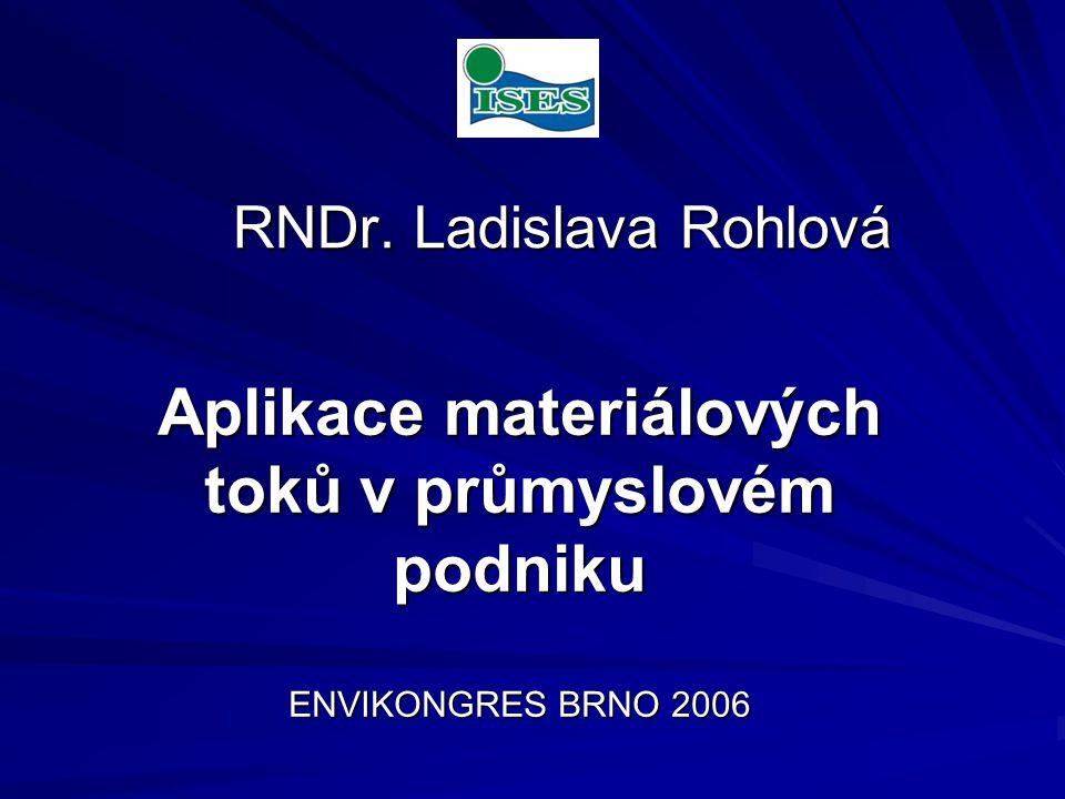 RNDr. Ladislava Rohlová RNDr.