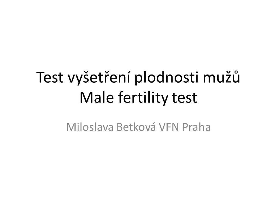 Male fertility test V sadě je: reagenční destička na dva testy bílá a modrá reagencie v plastové lahvičce dva kelímky se sypkou reagencií dvě pipetky plastové dva prezervativy bez spermicidního gelu