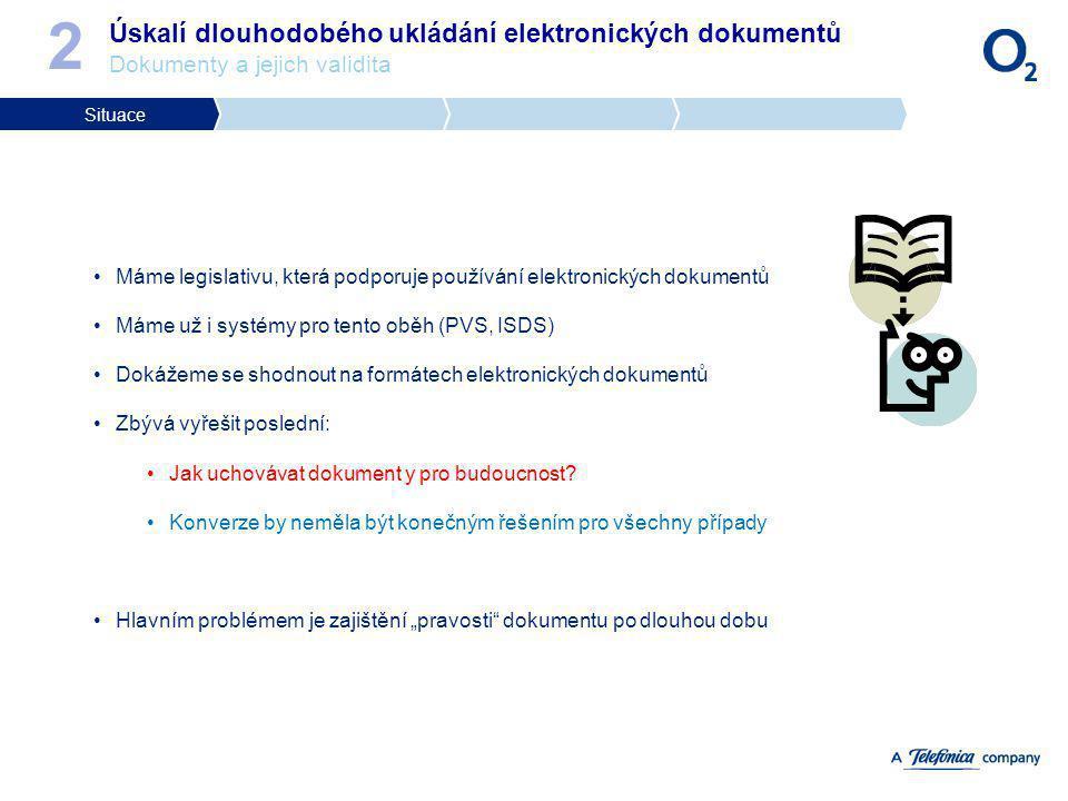 Máme legislativu, která podporuje používání elektronických dokumentů Máme už i systémy pro tento oběh (PVS, ISDS) Dokážeme se shodnout na formátech el