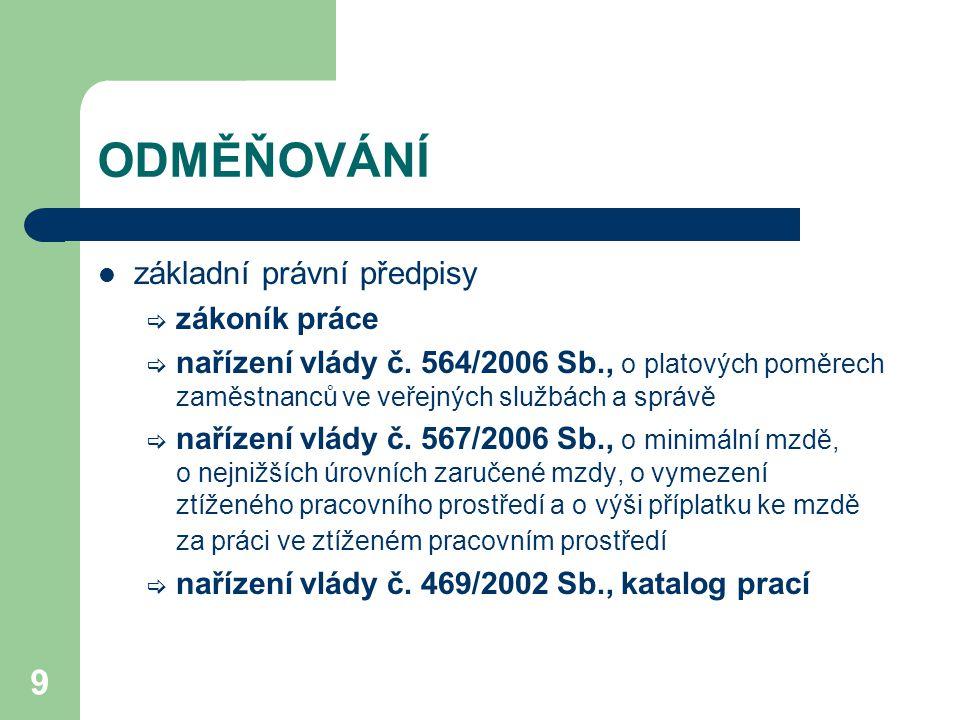 10 SJEDNÁNÍ / STANOVENÍ MZDY (1) jediným omezením jsou minimální mzda a zaručená mzda (NV č.