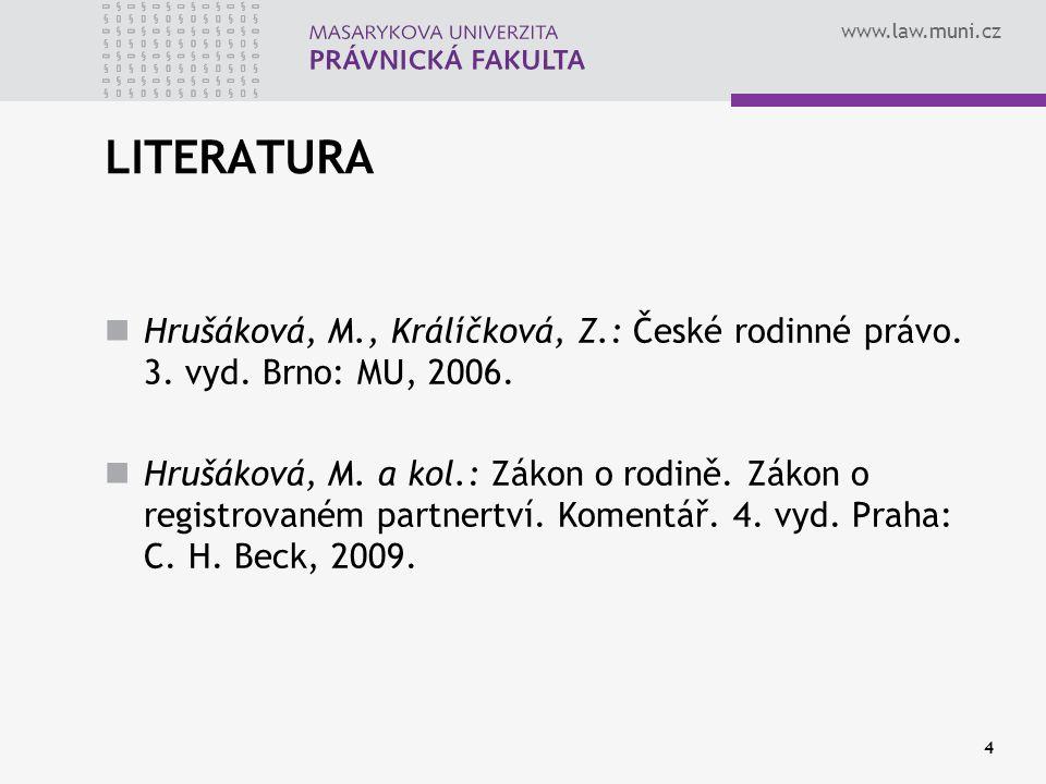 5 MATER SEMPER IN IURE CERTA EST Iulius Paulus (přelom 2. a 3. století)